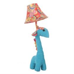 Veioza copii Girafa albastra 3D