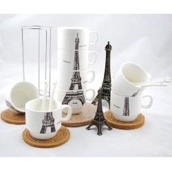 Set de cesti Turn Eiffel puzzle design