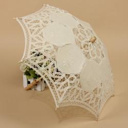 Umbrela ivoire miresa dantelata