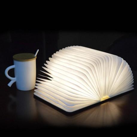Lampa de veghe cu led, in forma de carte, portabila 12.5x8.2x 2.2 cm